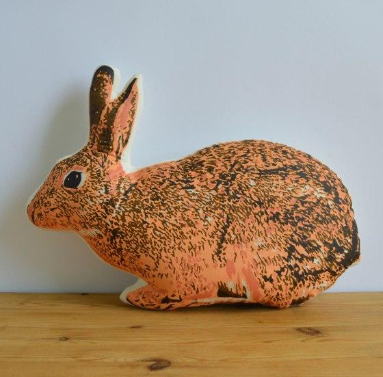 Broderpress - Bunny Pillow 1