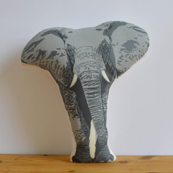 Broderpress - Elephant Pillow square