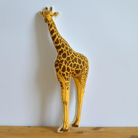 Broderpress - Giraffe Pillow 1