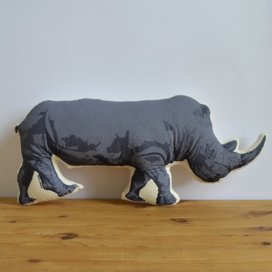 Broderpress - Rhino Pillow 1