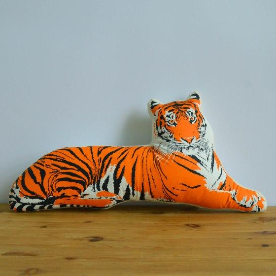Broderpress - Tiger Pillow 1