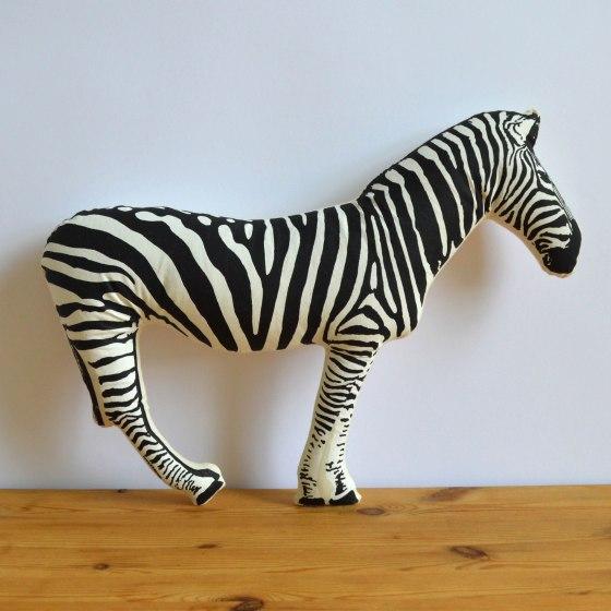 Broderpress - Zebra Pillow 1