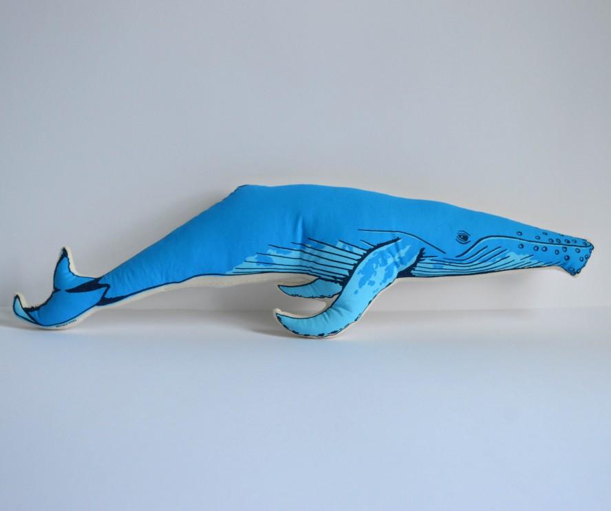 Broderpress - Whale Pillow 3